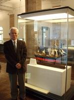 Mr. Nosaki in NYK Museum.jpg
